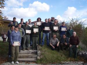 Erfolgreiche Jagdschüler: Ein schwerer Schritt zum Jäger werden?